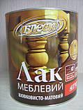 """Лак меблевий НЦ-243 шовковисто-матовий """"БЛИСК"""" 0,8 кг (ж/б 1л), фото 2"""