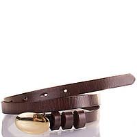 Женский узкий кожаный ремень ETERNO (ЭТЕРНО) MS16862-1-10
