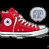 Оригинальные кеды Converse All Star Chuck Taylor, red