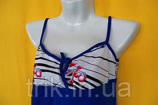 Пижама летняя в полоску с якорями, фото 2