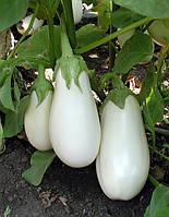 Баклажан  Бибо F1 семена гибрида белого цвета
