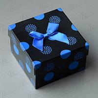 Подарочная коробка для часов gift10black-blue