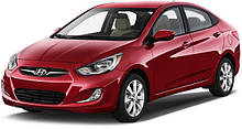 Фаркопы на Hyundai Accent (c 2010--)