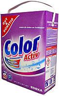 Стиральный порошок Gut & Gunstig Color Activ Colorwashmittel (60 стирок) 4,8кг.
