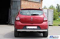 Renault Sandero 2013 задняя дуга AK002