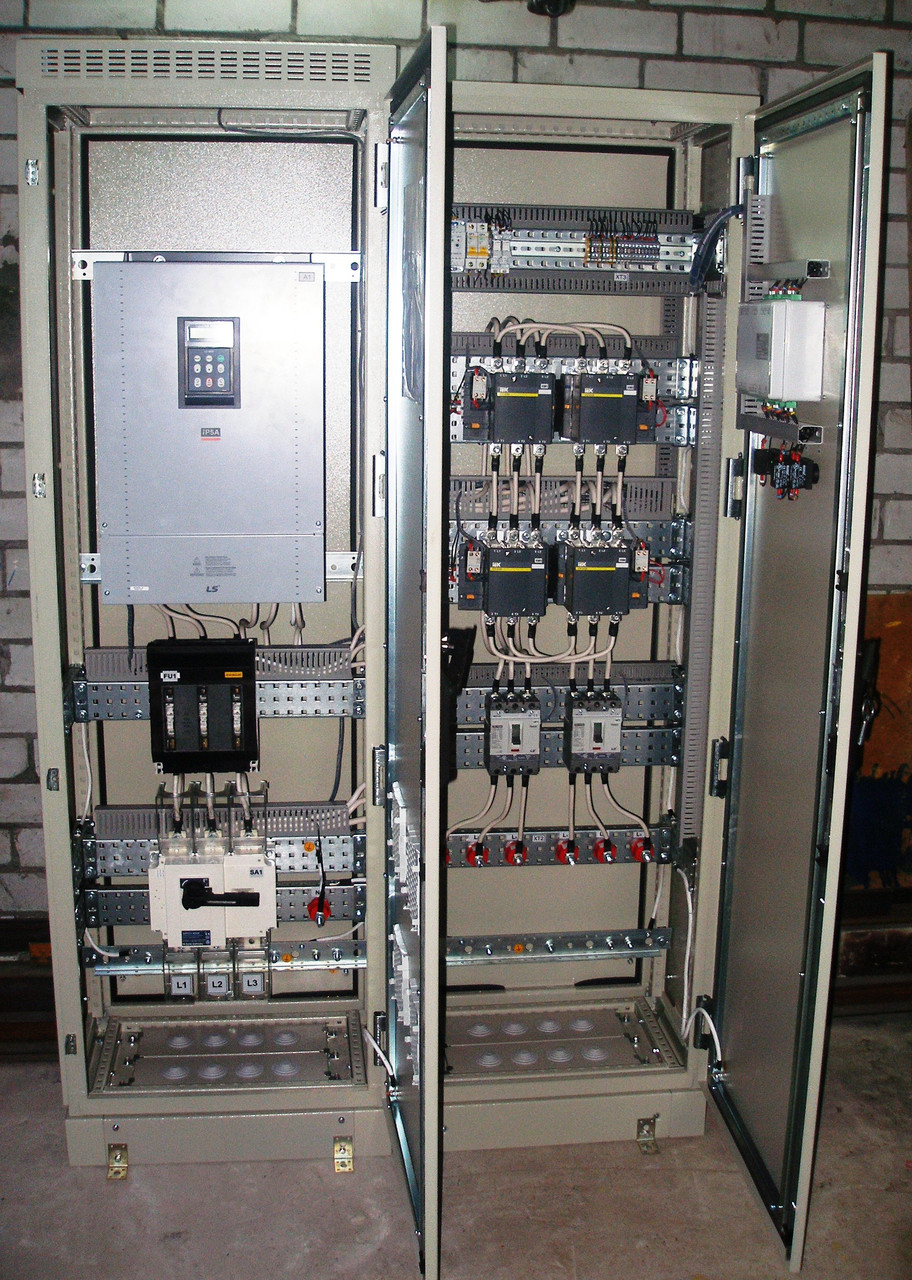 Пульт  управления  для насосов 380 V мощность от 15 кВт до 110 кВт. Стандарт  АКН -1