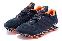 Кроссовки мужские  Adidas Springblade 2 blue-orange, фото 1