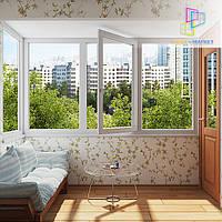 Остекление балкона в чешском проекте Киеве, фото 1