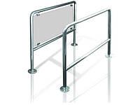 TisO ограждение для турникета стационарное без стекла полированная/шлифованная нержавеющая сталь