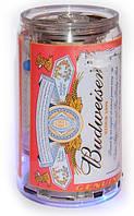 MP3 плеер, колонка в виде банки пива «Budweiser». Мобильная банка