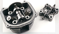 Головка цилиндра T GY6 150 (для двигателя 157 QMJ, без крышки) (class:B
