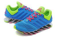 Женские кроссовки Adidas Springblade 2 blue-green, фото 1