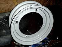 Диск колеса Запорожец 4*114.3 крашенный, под бескамерку. Колесный диск 965-3101015-02 на ЗАЗ-965 горбатый