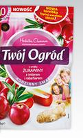 Чай пакетированный Gwarancja jakosci Twoi Ogrod  Zurawiny  z imbirem 40 пак80g (Польша)