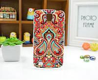 Чехол для Samsung Galaxy Grand2 G7102/G7105/G7106 панель накладка с рисунком узоры