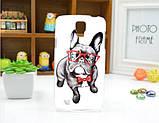 Чехол для Samsung Galaxy Grand2 G7102/G7105/G7106 панель накладка с рисунком три кота, фото 5