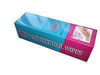 Салфетки безворсовые для маникюра в коробке 300 шт. 5*5 см