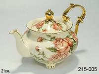 """Заварочный чайник """"Корейская роза""""  21 см Lefard ed 215-005"""