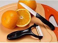 [ Набор керамических ножей Zirconia Ceramic ] Кухонный Нож + Пиллер из циркониевой керамики