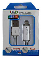 USB кабель iPhone 5 LED 3.0m 10FT