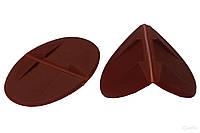 Овальный защитный пластмассовый уголок