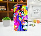Чехол для Samsung Galaxy Core i8260/i8262 панель накладка с рисунком краски, фото 2