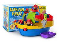 Игрушка для ванной Водопад 811 корабль пиратов, фигурки 2шт KHT