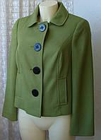 Піджак жіночий модний елегантний демісезонний бренд Petite Collection р. 46 5585, фото 1