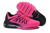 Женские кроссовки Nike Air Max 2015 розовые