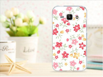 Чехол для Samsung Galaxy Win i8550/i8552 панель накладка с рисунком цветочки