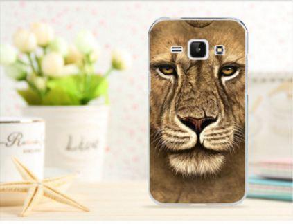 Чехол для Samsung Galaxy Win i8550/i8552 панель накладка с рисунком лев