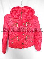 """Детская куртка на девочку Подросток Весна  """"Mustang"""" LB-1027"""