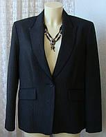 Пиджак женский стильный офисный демисезонный бренд Marks&Spencer р.48 5586
