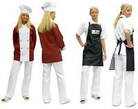 Костюмы повара на заказ, пошив кителей, фартуков, головных уборов