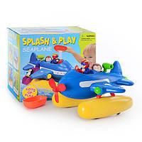 Игрушка для ванной Водопад 168 Самолет, фигурки 3шт KHT
