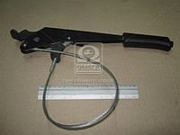 Рычаг тормозной ручного ВАЗ 2123 с тросом в сб. (ОАТ-ВИС). 21230-350801000