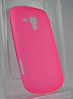 Чехол накладка Samsung S7562 Galaxy S Duos силиконовый