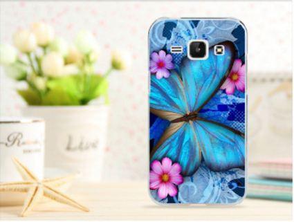 Чехол для Samsung Galaxy Grand Neo i9060/i9062 панель накладка с рисунком бабочка