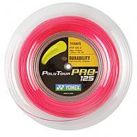 Струна для большого тенниса Yonex Polytour Pro 125 Pink