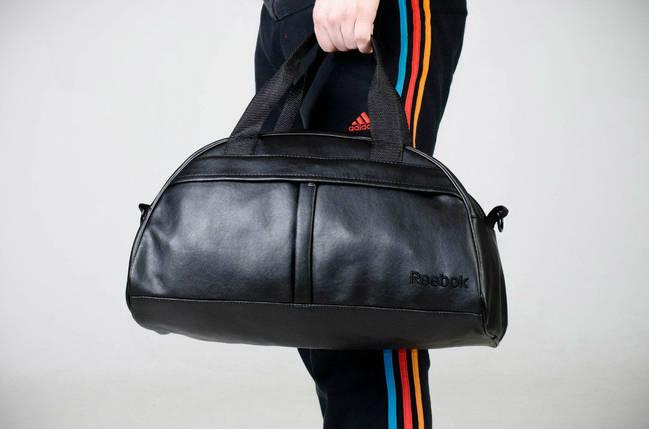 Спортивная сумка Reebok, сумка для спорта, кож.зам, фото 2