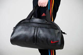 Спортивная сумка Nike, сумка для спорта, кож.зам, фото 2