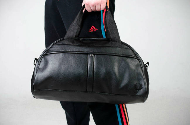 Спортивная сумка Fred Perry, сумка для спорта, кож.зам, фото 2
