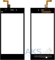 Сенсор (тачскрин) для Xiaomi Mi3 Black