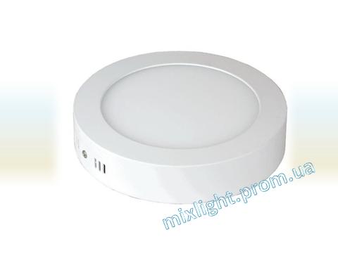 Светодиодный светильник 12W круг 4500K/6400К Z-light