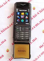 Телефон Vertu Ferrari F510 на 2 сим , фото 3