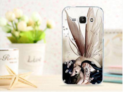 Чехол для Samsung Galaxy J1/ J100 панель накладка с рисунком фея, фото 2
