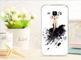Чехол для Samsung Galaxy J1/ J100 панель накладка с рисунком сердце, фото 9