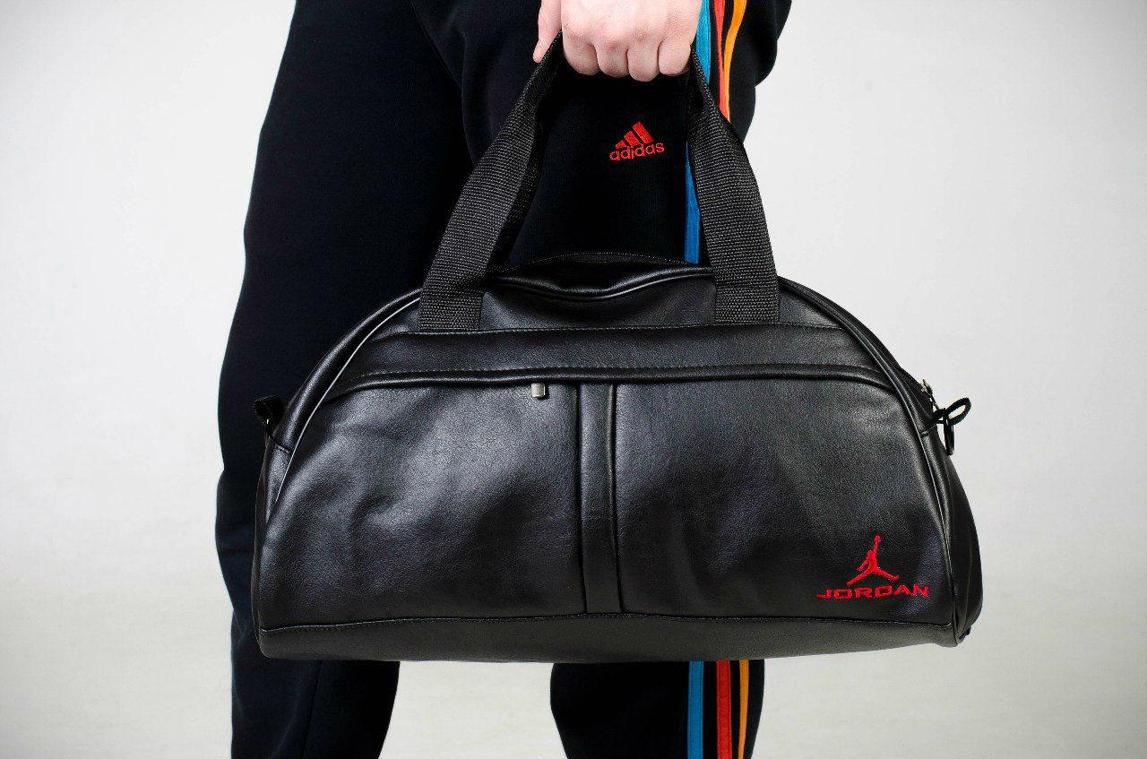 Спортивная сумка Jordan, сумка для спорта, кож.зам