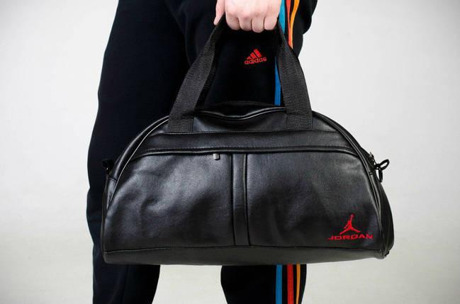 Спортивная сумка Jordan, сумка для спорта, кож.зам, фото 2