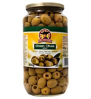 Зеленые оливки без косточек DON FERNANDO, 935 гр.
